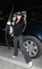 Ali Lohan arrives awaits her sister outside the JFK International Airport
