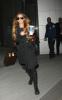 Lindsay Lohan lands in New York City JFK International Airport