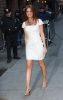 Isla Fisher arrives at the Ed Sullivan Theater for the Late Show with David Letterman on February 5th 2009