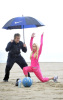 Heidi Montag and Spencer Pratt working out