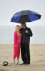 Heidi Montag and Spencer Pratt together at the beach