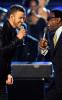 Justin Timberlake and Al Green performing at the 2009 Grammy Awards