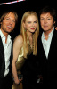 Nicole Kidman and her husband Keith Urban with Paul McCartney at the 2009 Grammy Awards