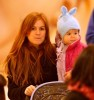 Isla Fisher goes toy shopping with her baby daughter Olive Cohen