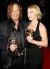 Kate Winslet and Mickey Rourke at the BAFTA awards