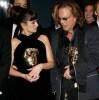 Penelope Cruz and Mickey Rourke at the BAFTA awards
