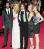 Blake Lively with Keanu Reeves, Zoe Kazan, Rebecca Miller and Robin Wright Penn.