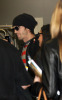 Ashton Kutcher and Demi Moore arrive at the Tegel Airport on a flight from Frankfort Germany