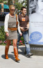 Katherine Heigl and T. R. Knight shopping at the Americana at Brand in Glendale in California then went to the Apple store 1