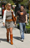 Katherine Heigl and T  R  Knight shopping at the Americana at Brand in Glendale in California then went to the Apple store 2