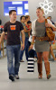 Katherine Heigl and T  R  Knight shopping at the Americana at Brand in Glendale in California then went to the Apple store 3
