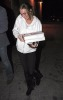 Lindsay Lohan picking up pizza last night on February 10th 2009 in Hollywood California 2