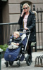Gretchen Mol was spotted with her son Ptolemy John Williams in new york city on february 10th 2009 2