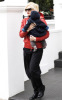 Gwen Stefani with her son Zuma Nesta Rock in London England on February 11th 2009 2