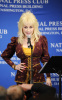 Dolly Parton making a speech at a luncheon held at the National Press Club in Washington DC on  February 10th 2009 1