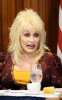 Dolly Parton making a speech at a luncheon held at the National Press Club in Washington DC on  February 10th 2009 2