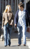 Claire Danes and her fiance Hugh Dancy together for a Soho stroll on February 11th 2009 3