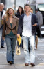 Claire Danes and her fiance Hugh Dancy together for a Soho stroll on February 11th 2009 2