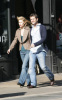 Claire Danes and her fiance Hugh Dancy together for a Soho stroll on February 11th 2009 4