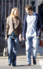 Claire Danes and her fiance Hugh Dancy together for a Soho stroll on February 11th 2009 1