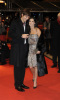 Demi Moore and Ashton Kutcher on the red carpet of the 59th Berlin International Film Festival premiere of Happy Tears on February 11th 2009 1