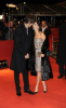 Demi Moore and Ashton Kutcher on the red carpet of the 59th Berlin International Film Festival premiere of Happy Tears on February 11th 2009 2