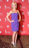 Kellie Pickler in a cute putple strapless dress
