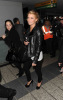Jessica Simpson on her way back to New York City on February 11th 2009