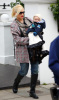 Gwen Stefani takes her young son Zuma out for lunch at asian restaurant Wagamamas in central London on February 12th 2009 2
