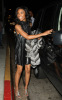 Brandy Norwood arrives at Nobu in Beverly Hills for her 30th birthday party on February 11th 2009 2
