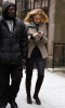 Blake Lively arrives to the filming set of Gossip Girl in New York City on February 12th 2009 1