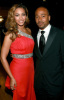 Beyonce Knowles and actor Columbus Short attend the 40th NAACP Image Awards