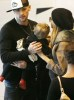 Nicole Richie and Benji Madden shopping at the Beverly Center with their daughter Harlow Winter on February 12th 2009 3