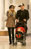 Nicole Richie and Benji Madden shopping at the Beverly Center with their daughter Harlow Winter on February 12th 2009 4