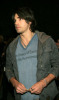 Justin Gaston arrives at Koi restaurant in Los Angeles California on February 12th 2009