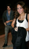 Miley Cyrus and Justin Gaston together at Koi restaurant in Los Angeles California on February 12th 2009