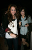 Miley Cyrus and Demi Lovato at Koi restaurant in Los Angeles California on February 12th 2009