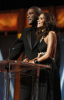 Tyler Perry and Halle Berry speak onstage during the 40th NAACP Image Awards held at the Shrine Auditorium on February 12th 2009 1
