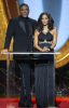 Tyler Perry and Halle Berry speak onstage during the 40th NAACP Image Awards held at the Shrine Auditorium on February 12th 2009 2