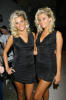 Karissa and Kristina Shannon attend the Beach Bunny Swimwear Spring 2009 Collection during Mercedes Benz Fashion Week at Smashbox Studios on October 13th 2008 in Los Angeles