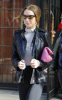 Lindsay Lohan was spotted leaving the Bowery Hotel in New York City on February 13th 2009