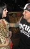 Katy Perry and Benji Madden hanging out after her performance at Wasted Space at the Hard Rock Hotel And Casino  Las Vegas on February 14th 2009 4