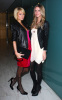 Nicky Hilton and Paris Hilton at the Tracy Reese fashion show