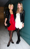 Nicky Hilton and Paris Hilton at the Tracy Reese fashion
