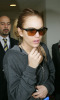 Lindsay Lohan arrives at Los Angeles International Airport on the morning of February 16th 2009