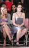 Kristen Bell and Michelle Trachtenberg at the Jill Stuart Fall 2009 fashion show
