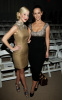 Kellie Pickler and Jennifer Love Hewitt together at the Mercedes-Benz fashion shows in New york city