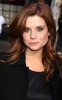 Joanna Garcia attends the Mercedes Benz Fashion Week in New York City on February 13th 2009