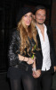 Lindsay Lohan and Matthew Williamson leaving her hotel