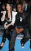 Kim Kardashian and Reggie Bush at the Y-3 Autumn-Winter 2009 Fashion Show on February 15th 2009